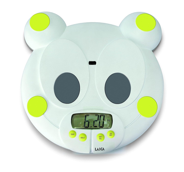 Laica PS3004 Color blanco AAA B/áscula para beb/és
