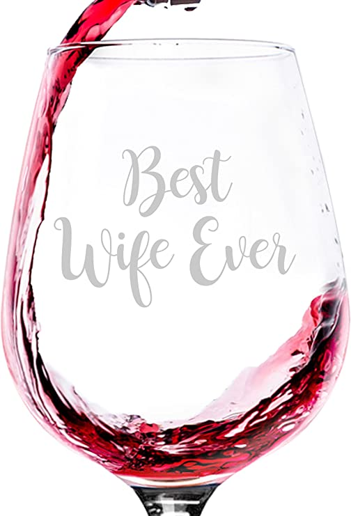 Amazon Com Best Wife Ever Wine Glass Unique Anniversary Gifts For Women Wife Her From Husband Cool Birthday Gift Idea From Hubby Fun Novelty Bday Present For The Mrs Wifey,Free Kitchen Design Software Online Australia