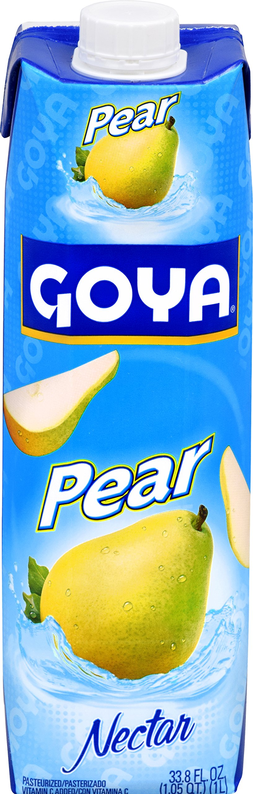 Goya Foods Pear Nectar, Prisma, 33.79 Ounce (Pack of 12)