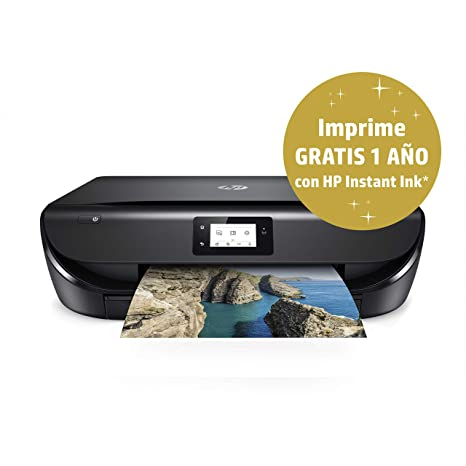 HP Envy 5030 – Impresora Multifunción Inalámbrica (Tinta, Wi-Fi, Copiar, Escanear, 1200 x 1200 PPP, Modo Silencioso, Incluye 1 año de Instant Ink con ...