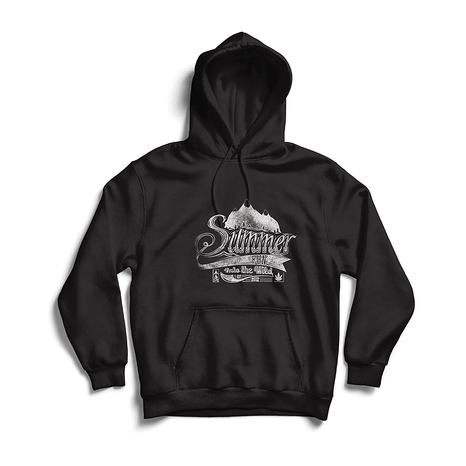 lepni.me Unisex Hoodie Summer Fun into The Wild Inspirational Travel Vacation