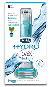 Schick Hydro Silk TrimStyle Moisturizing Razor  - Best Bikini Trimmer For Close Shave