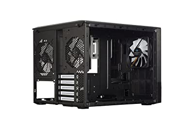 Fractal Design Node 804 No Power Supply Micro-ATX Cube Case FD-CA-NODE-804-BL