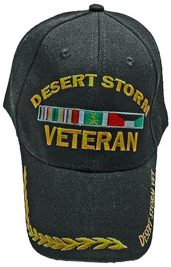Amazon.com  Desert Storm Veteran Baseball Cap 7d192bdbcc