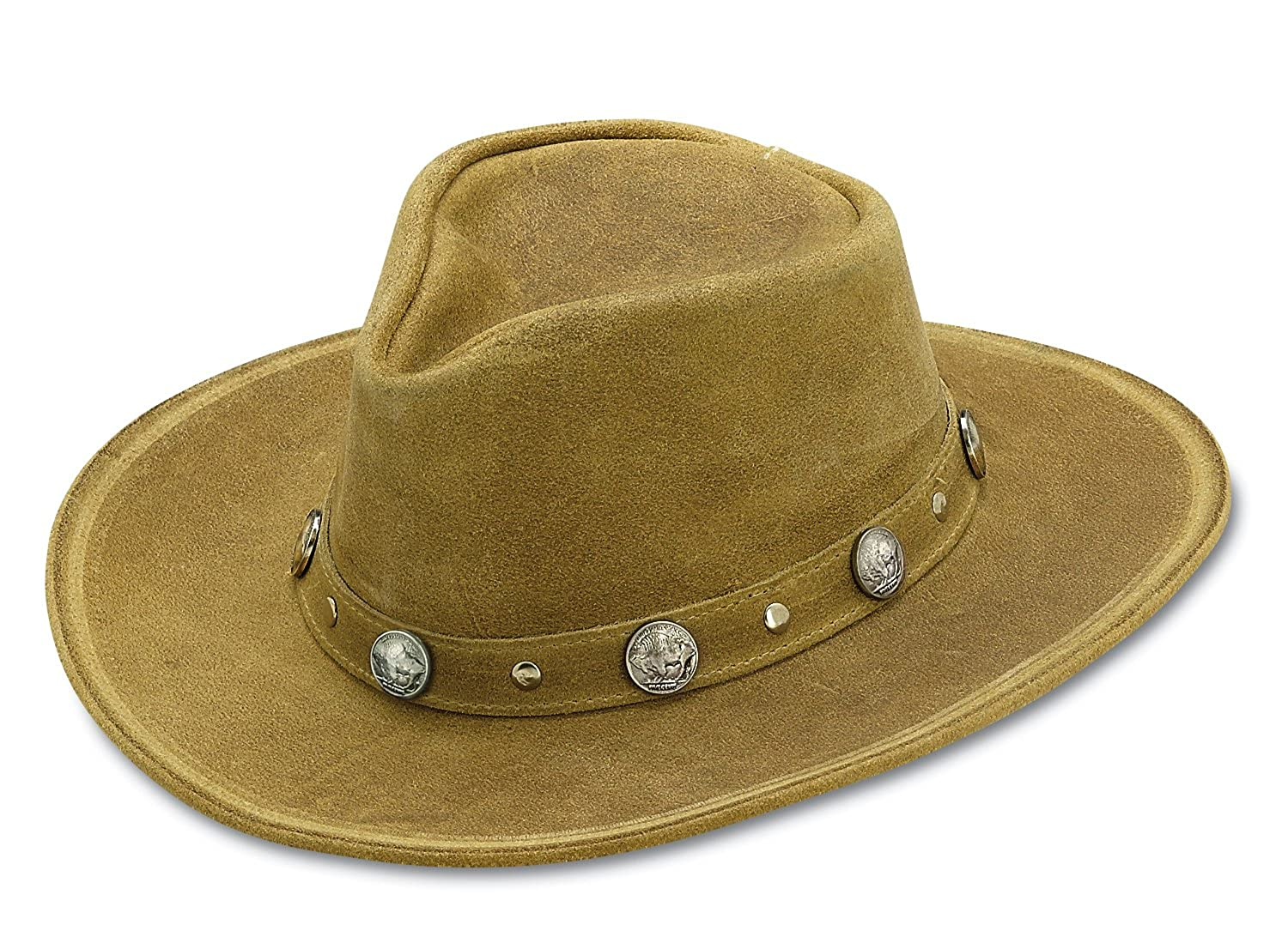 f5799bc33aa Minnetonka Unisex Buffalo Nickel Hat at Amazon Men s Clothing store