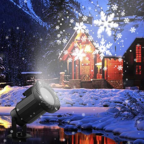 Amazon.com: Snowfall LED Light Projector,Christmas Rotating