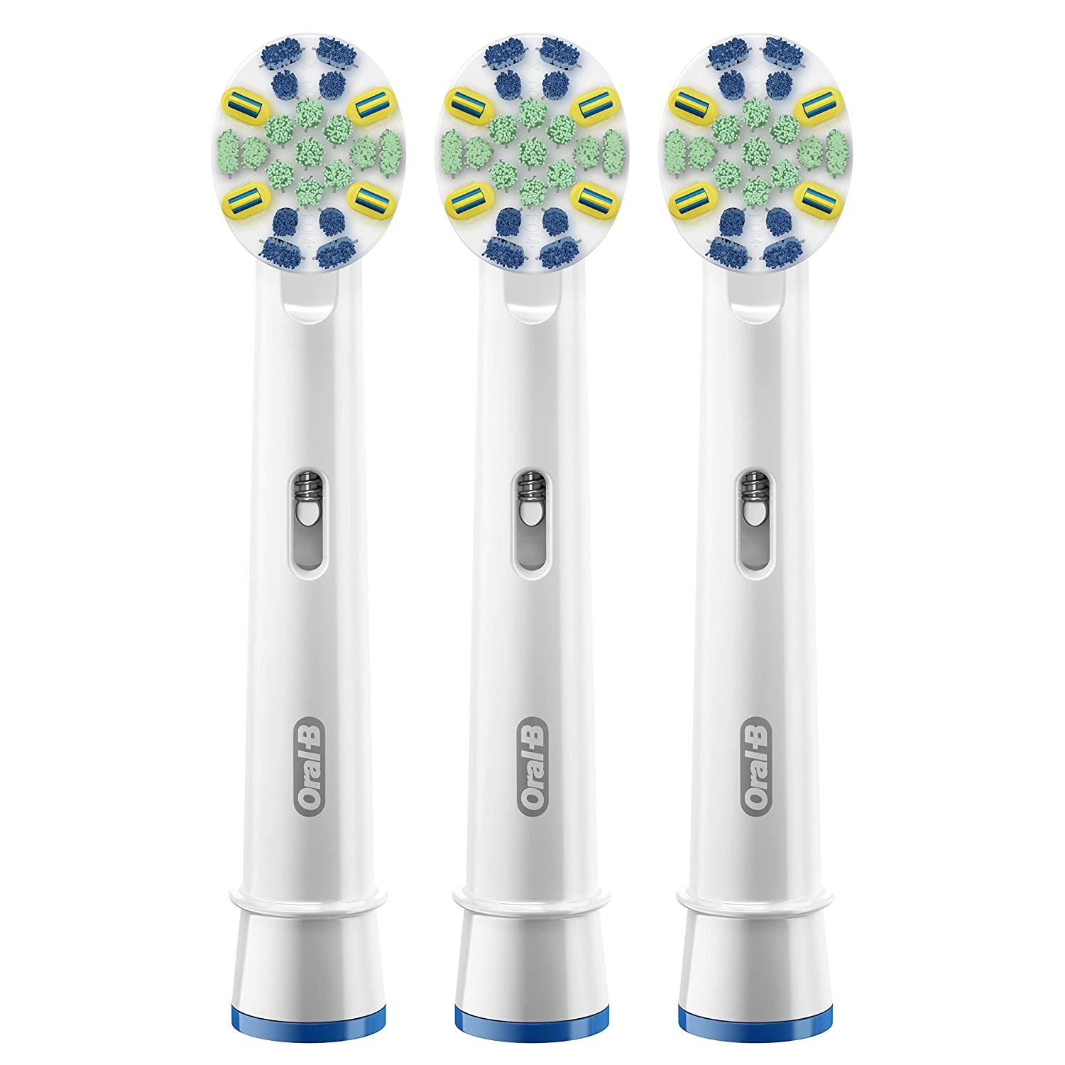 Oral-B FlossAction Electric Toothbrush Replacement Brush Heads, 3 Count with Bacteria Guard Procter and Gamble EB25AB-04