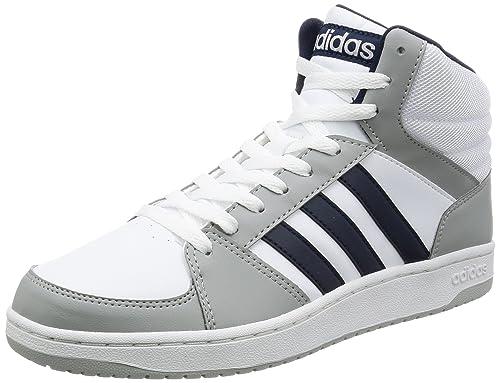 sale retailer 81b16 b0214 adidas Vs Hoops Mid, Scarpe da Ginnastica Uomo, Bianco (Ftwbla Maruni