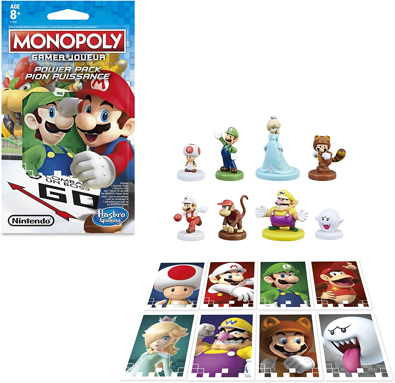 1 Figure in pack-Random Modèles HASBRO Jeu Monopoly Gamer
