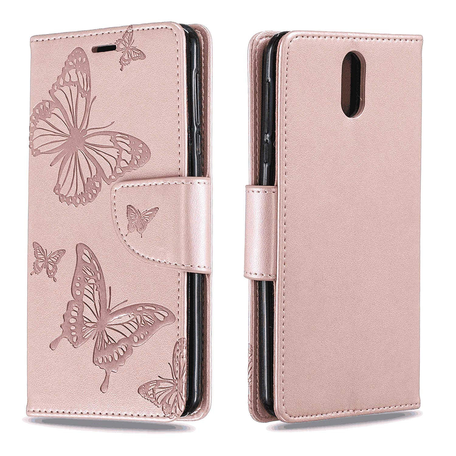 Samsung Galaxy S9 Plus Flip Case Cover for Samsung Galaxy S9 Plus Leather Card Holders Wallet case Extra-Protective Business Kickstand with Free Waterproof-Bag Classical