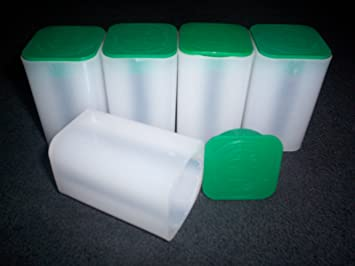 10 Genuine Official US Mint Square Coin Tubes For American Silver Eagle Oz Best