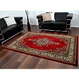 Orient Teppich Marrakesh Rot Keshan in 6 Größen
