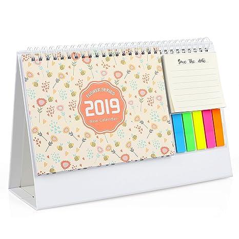 Mini Calendario.2019 Mini Calendario Da Tavolo Per Fare La Lista Calendario