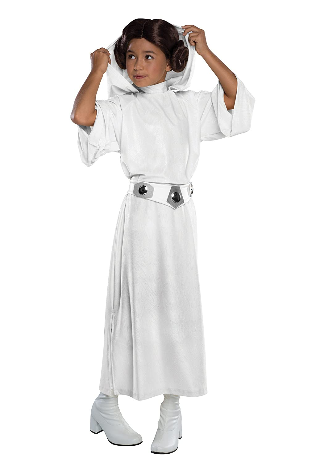 Amazon.com: Rubie\'s Costume Star Wars Classic Princess Leia Deluxe ...