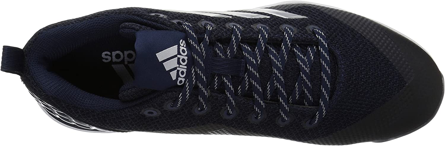 Adidas Herren PowerAlley 5 Softball-Schuhe, grau Collegiate Navy Silver Met Ftwr White