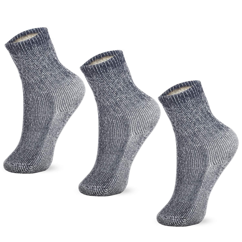 MERIWOOL Merino Wool Kids Hiking Socks for Children 3 Pairs by MERIWOOL
