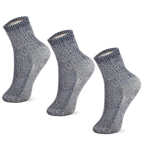 6 Pairs High Quality 75/% Merino Wool Hiking Camping Winter Thermal Boot Socks