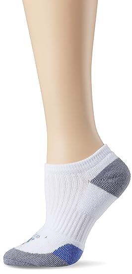 Adidas - Calcetines Bajos para Mujer, Mujer, AE6907, White/Baja Blue/
