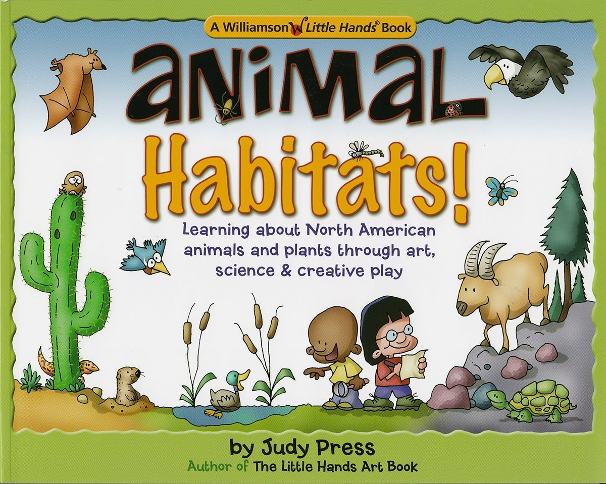 Animal Habitats Williamson Little Hands Series Judy Press Betsy