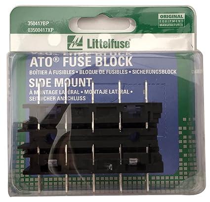 amazon com littelfuse 350417bp ato fuse block with 1 4 quick rh amazon com