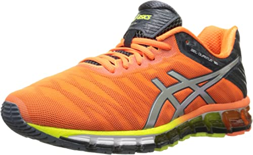 Amazon.com | Men's Gel Quantum 180 Running Shoe, Hot Orange/Silver ...