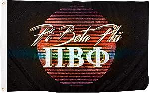 Desert Cactus Pi Beta Phi 80's Letter Sorority Flag Banner 3 feet x 5 feet Sign Decor Pi Phi (Flag - 80's)