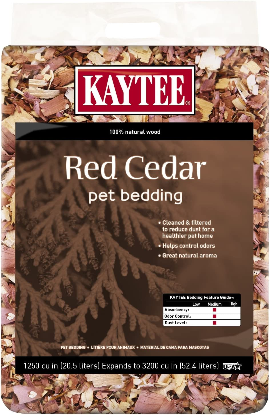 Kaytee Red Center Bedding