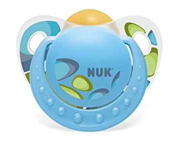 NUK T3 Adore 80601412 fisiológica Chupete de látex, Boy s ...