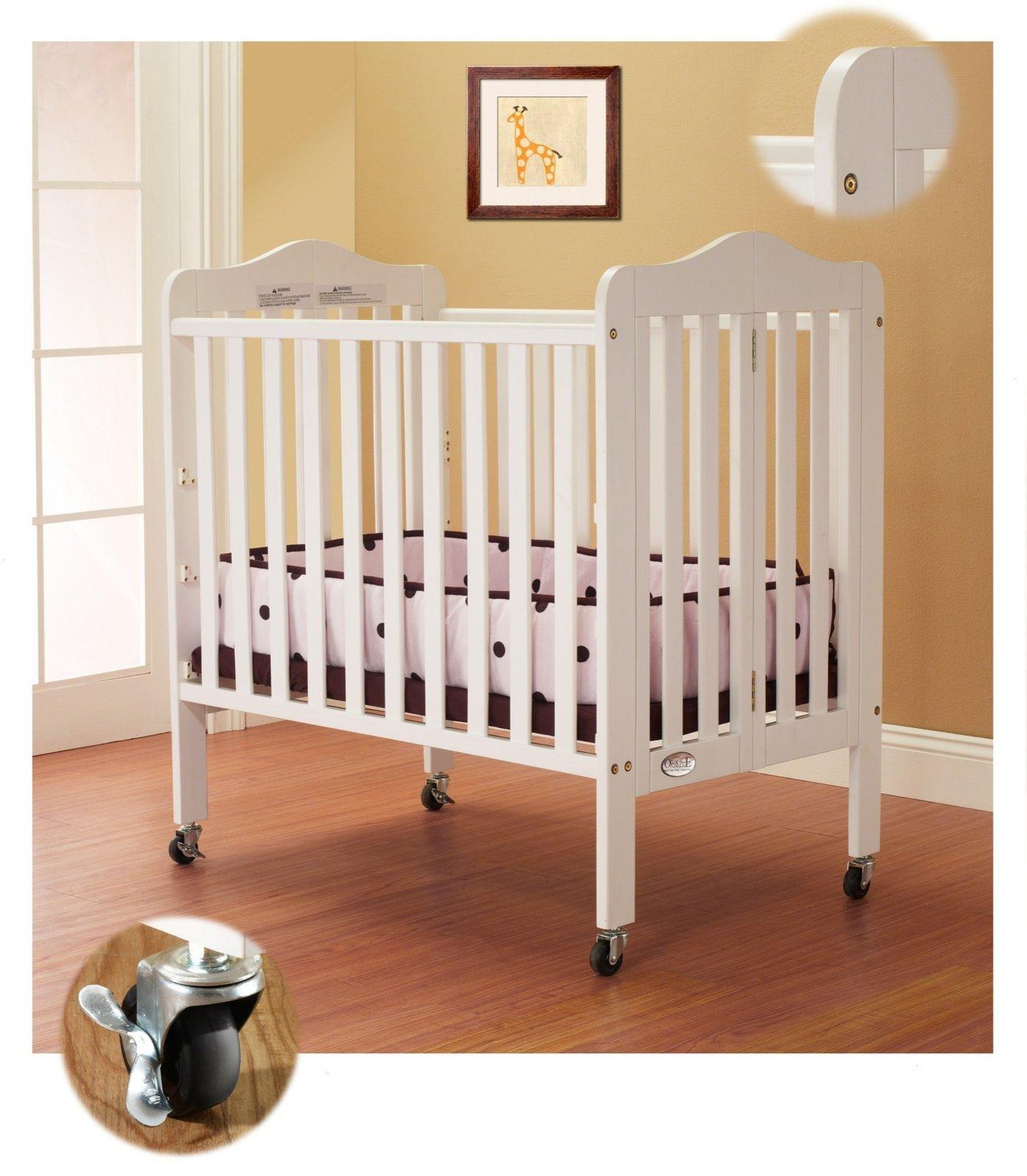 Orbelle Noa Three Level Portable Crib, White by Orbelle