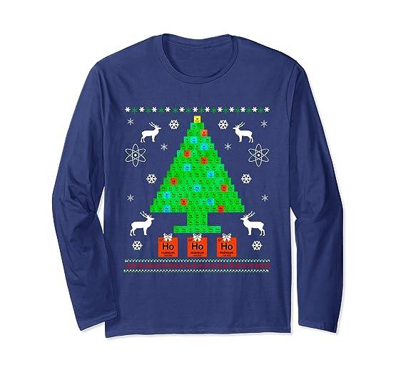 Amazon christmas tree periodic table t shirt christmas gift unisex christmas tree periodic table t shirt christmas gift small navy urtaz Images