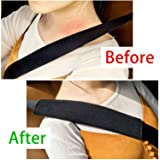 6PCS Car Seat Belt Covers Soft Faux Sheepskin