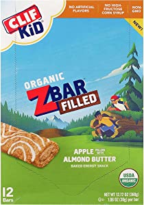 Clifbar ZBar Filled - 12-Pack Apple Almond Butter, One Size