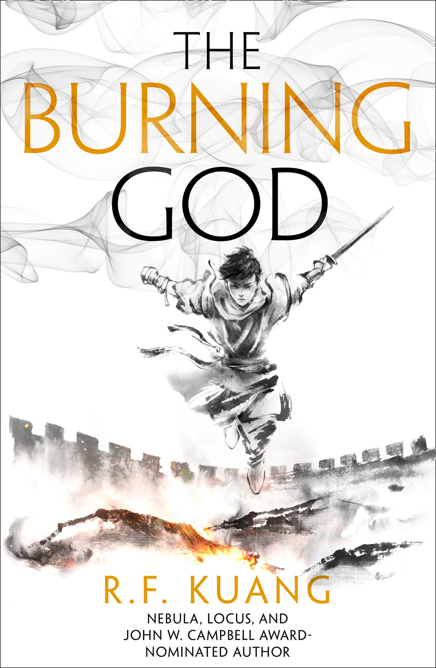 The Burning God (The Poppy War, Book 3): Amazon.co.uk: Kuang, R.F. ...