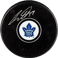 $112 » Auston Matthews Toronto Maple Leafs Autographed Hockey Puck - Fanatics Authentic Certified - Autographed NHL Pucks