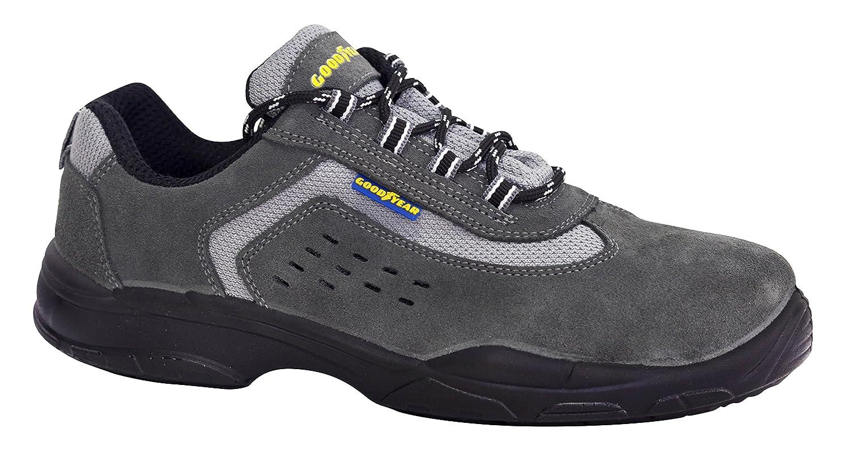 Goodyear G138840C - Calzado (piel serraje, talla 43) color gris