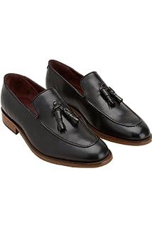 next Homme Chaussures Derby Texturées avec Empiècements Marron EU 45