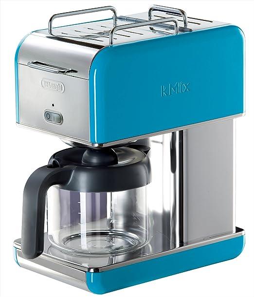 DeLonghi Kmix goteo cafetera eléctrica 10-cup azul: Amazon.es: Hogar