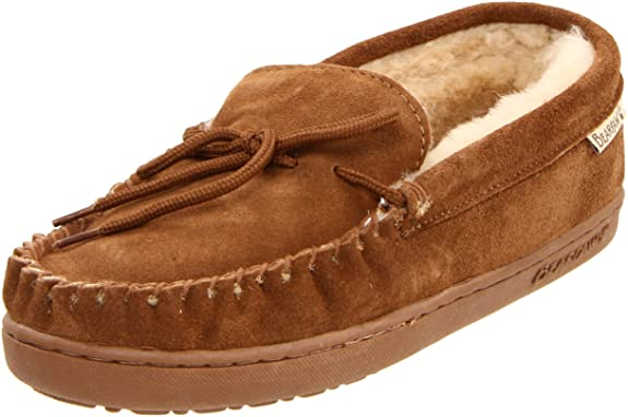BEARPAW Men's Moc II Slip-On,Hickory,10 M US best gifts for grandpas