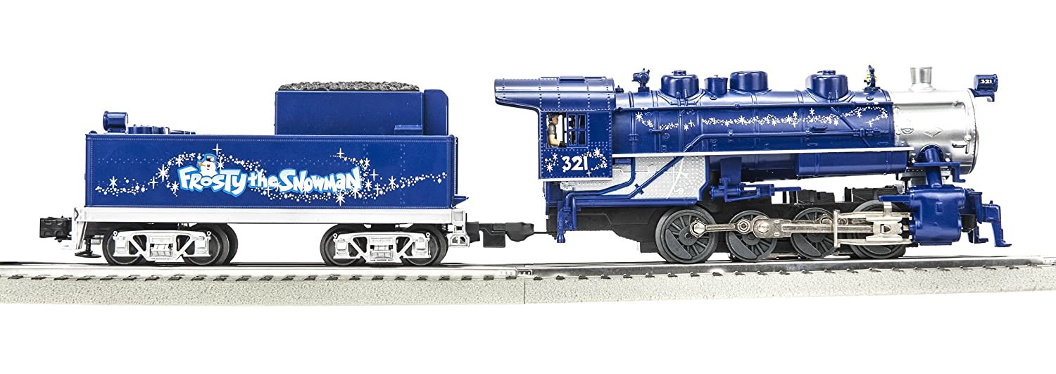 Lionel Trains Frosty the Snowman Engine and Tender
