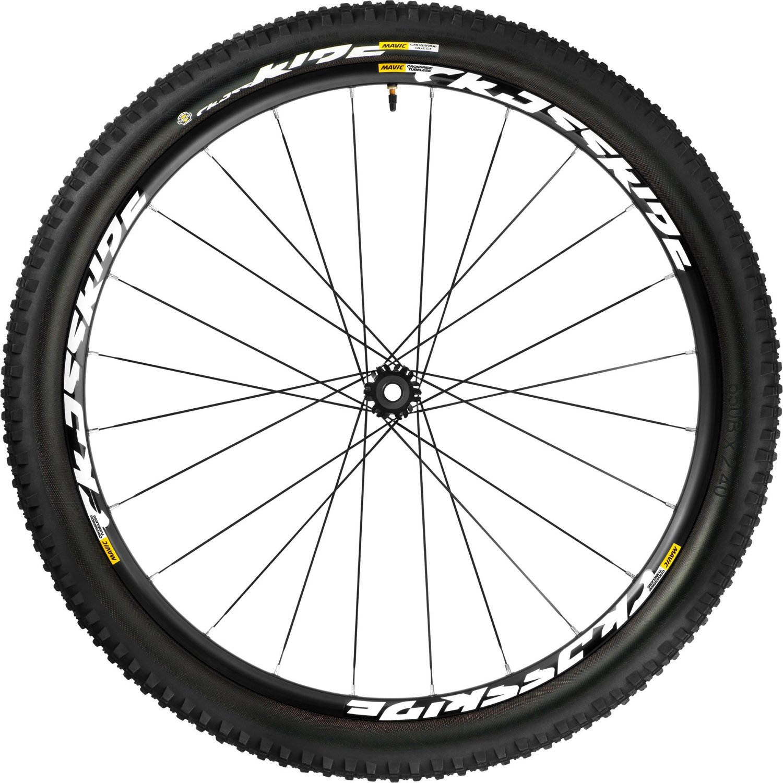 Mavic Crossride 26'' Mountain Front Wheel + 26x2.4 Quest Tire