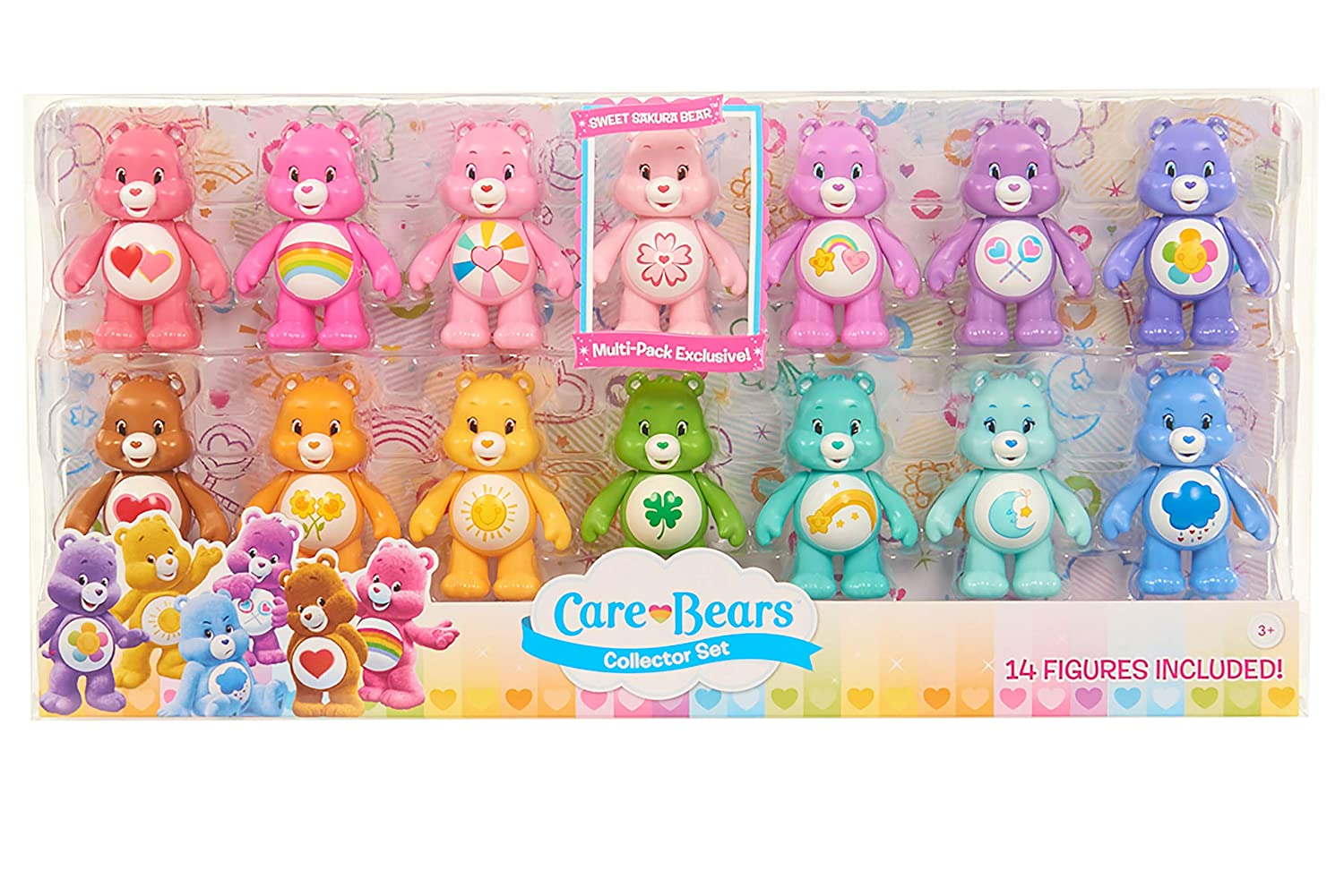 Care Bears Collector Set, Multicolor Just Play 43525