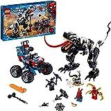 LEGO Marvel Spider-Man Venomosaurus Ambush 76151 Building Toy with Superhero Minifigures; Popular Holiday and Birthday Presen