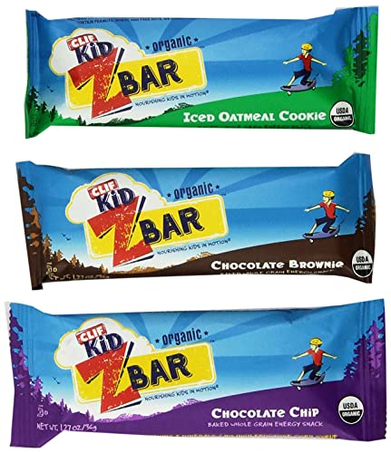CLIF Kids Zbar Variety Pack, 1.27 oz, 36 Count