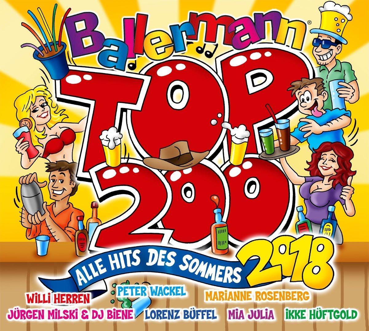 Ballermann Top 200 Alle Hits Des Sommers 2018 Various Amazon De