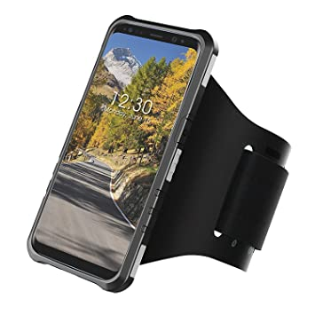 Armband Case for Samsung Galaxy S8 Plus (6.2 inch) Anti-Shock Protective Hard