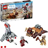 LEGO Star Wars: A New Hope T-16 Skyhopper vs Bantha Microfighters 75265 Collectible Toy Building Kit for Kids, New 2020 (198 Pieces)