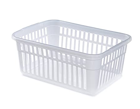 602b0c7410698 Plastic Handy Basket Shop ((Set of 2)30 x 11 x 19 cm