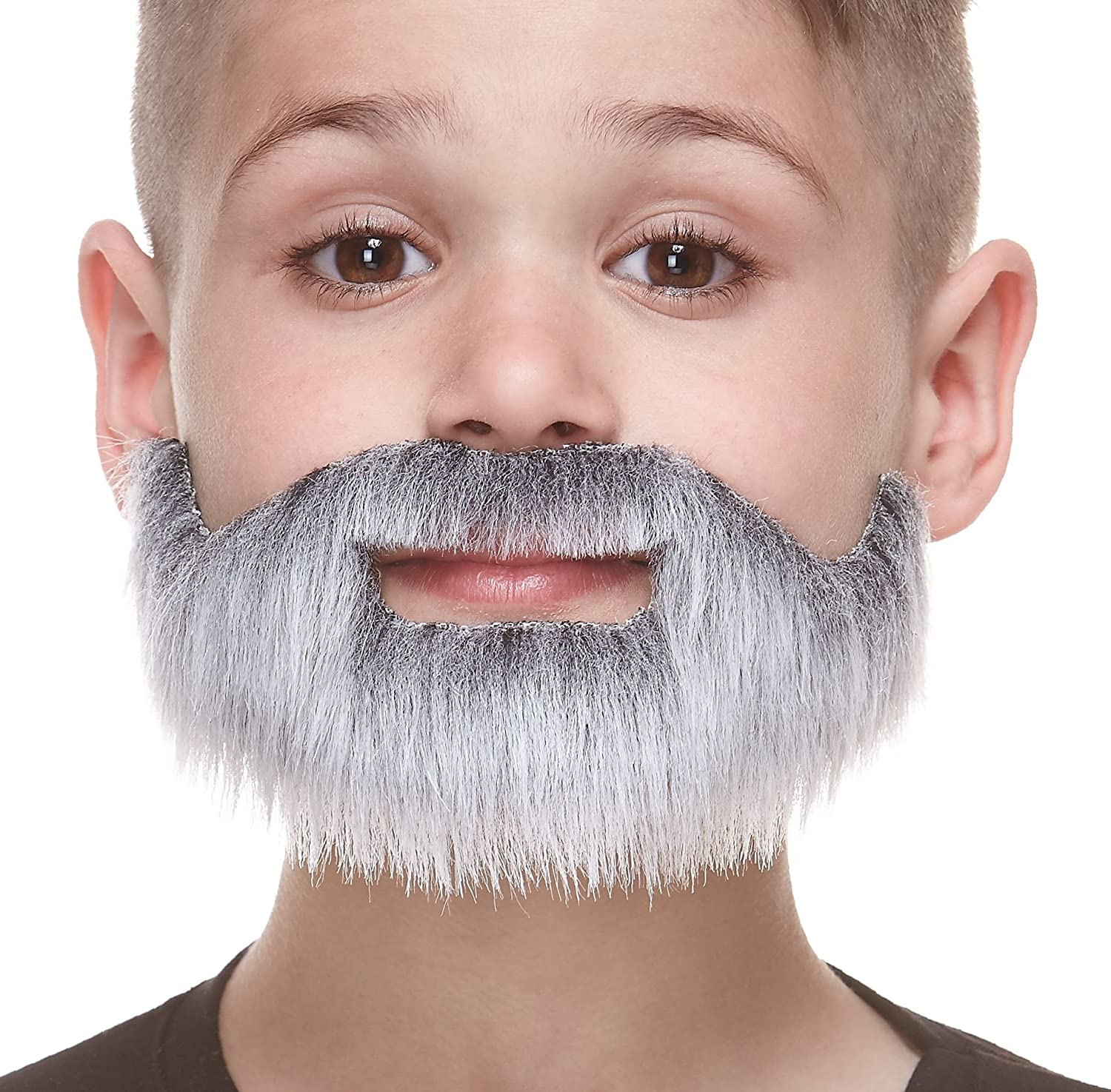 Fancy Dress Fake Beard Halloween Costume Party Facial Hair Moustache Wig Funny