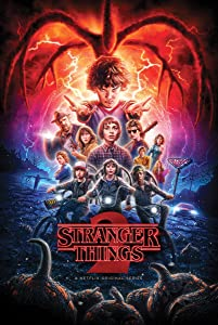 Poster Stranger Things Season 2 24x36 inches Netflix Tv Show 2017