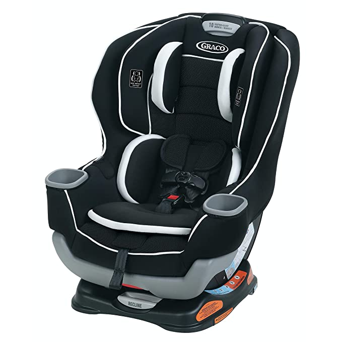 Graco Extend2Fit Convertible Car Seat - The Best Convertible Car Seat for Small Car